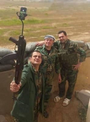 Military Selfie Stick