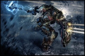 Space Marine charge