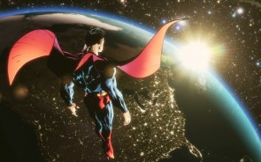 Superman in spaaaaace