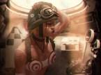 Tank Girl in her tank