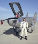 Test Pilot John A. Manke and M2-F3 Lifting Body