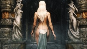 The Backside of a Fantasy Woman