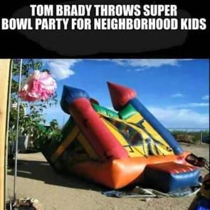 Tom Brady Superbowl Party