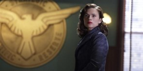 Agent Carter and a shield