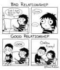 Bad vs Good Relationship