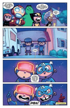 Comic Books movie reflections (Giant-Size Little Marvel – AvX 001)