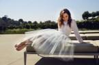 Emilia Clarke white dress