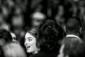 Emma Stone says hello