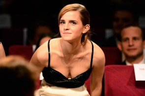 Emma Watson has nice clevage