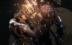 Gears of war Chainsaw battle