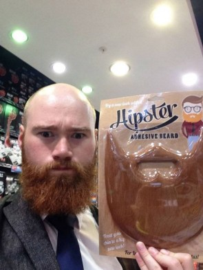Hipster Adhesive Beard