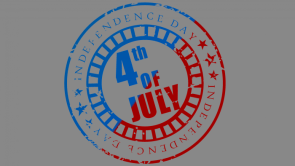 Independence day is July 4th