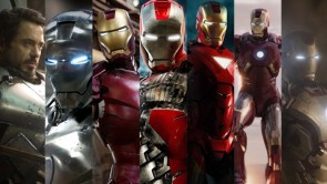 Iron man through the movies