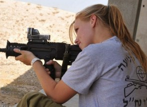 Jew with Machine Gun