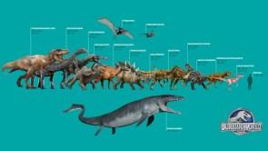 Jurassic World Dinos Sheet