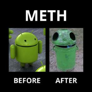 Meth befor and after