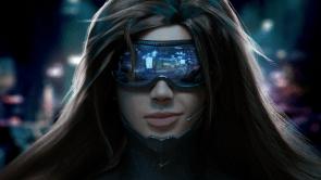 Smirky Cyber Girl