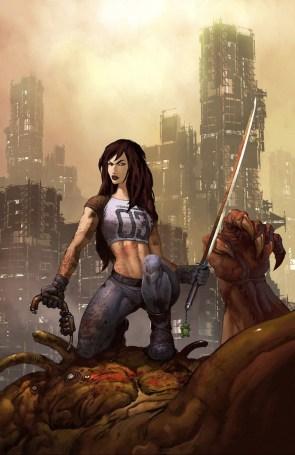 Sword Sports Girl