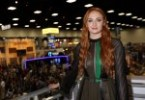Sophie Turner – Nice Dress at ComiCon