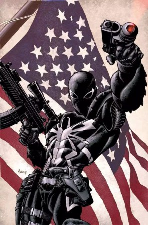Agent Venom and the American Flag