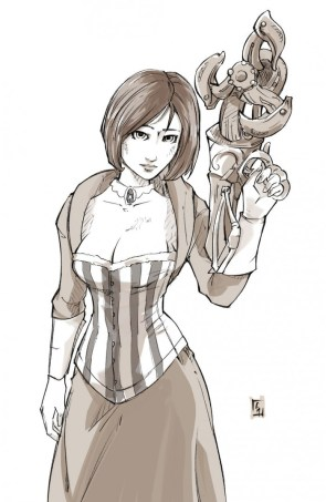 elizabeth and gun thing