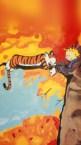 Calvin and Hobbes Vertical Wallpaper