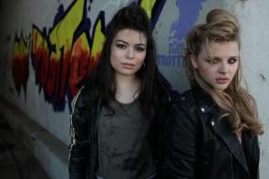 Chloe Grace and Miranda Cosgrove