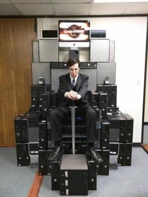 Computer Throne