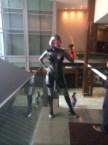 Crystal Graziano as EDI (Mass Effect)