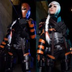 Deathstroke cosplay by VampyBitMe