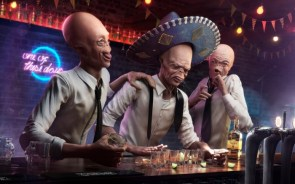 Drunk Aliens