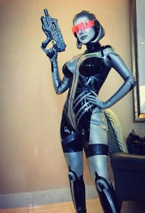 EDI (Mass Effect) Cosplay by Crystal Graziano