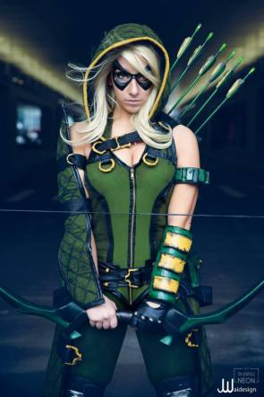 Green Arrow by Its Raining Neon_