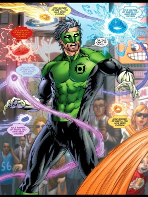 Green Lantern – Kyle Has been chosen