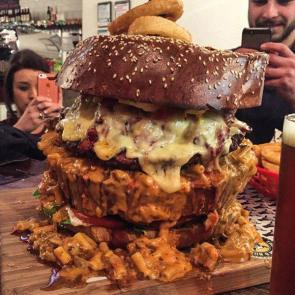 Insane burger