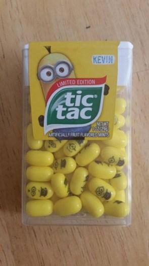 Limited Edition Minion Tic Tac