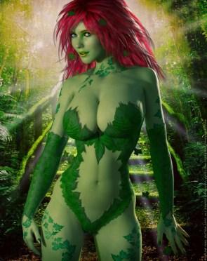 Poison Ivy CGI Cosplayer