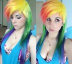 Rainbow Dash cosplay by Norikat