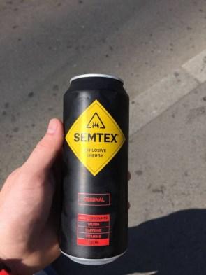 Semtex original non carbonated energy drink