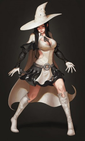 Sexy White Mage