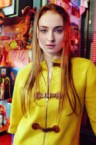 Sophie Turner In Yellow