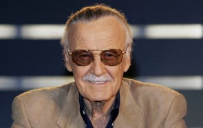 Stan Lee Smiles