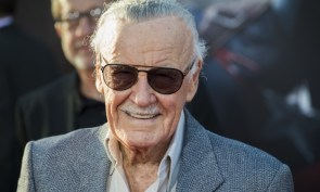 Stan Lee in the sunshine
