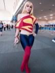 Supergirl retro cosplay
