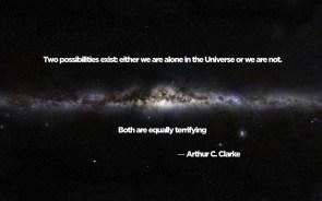 Two Possibilities – Arthur C. Clarke