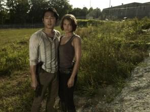 Walking Dead couple