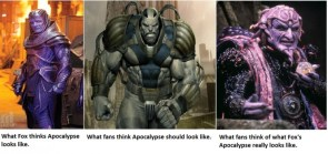 X-Men – Apocalypse Image Perception