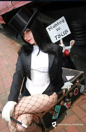Zatanna Cosplay by Riddle