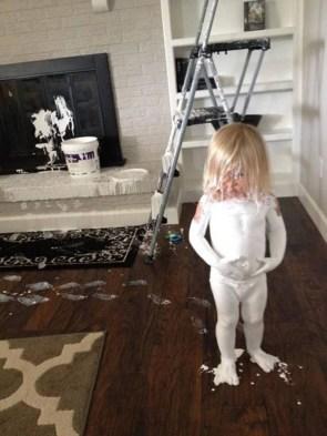 baby painter