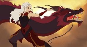 dany and dragon